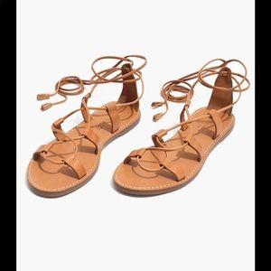 Madewell Boardwalk Lace-Up Sandal